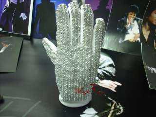 Michael Jackson Billie Jean Glove Shinning Gloves MJ Costumes MJAG3
