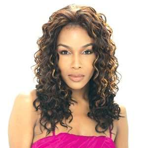 Model Model Synthetic Baby Hair Lace Front Wig   Lolly 1B