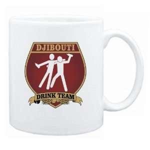 Djibouti Drink Team Sign   Drunks Shield  Mug Country Home