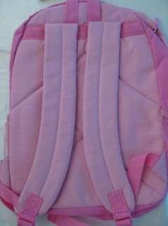 Disney Princess sparkle backpack bag pink large new