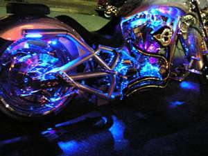 LED MOTORCYCLE/CAR/BOAT/HOME POD LIGHT BRIGHT KIT GLOW and Street 12V