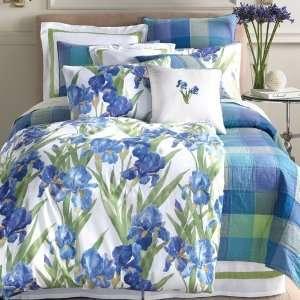 Iris Flora Iris Comforter Cover   Twin