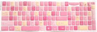 LOVELY CUTE PINK Bling Gemstone Keyboard Stickers FOR NOTEBOOK NEW PC