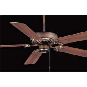 52 Minka Lizette Belcaro Walnut Ceiling Fan: Home