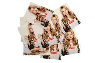 Supreme SS12 Kate Moss sticker (White) (box logo tee sweater camp cap
