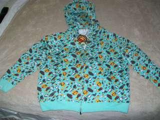NWT BAPE BABY MILO Hoodie Sweatshirt top Jacket 4XL