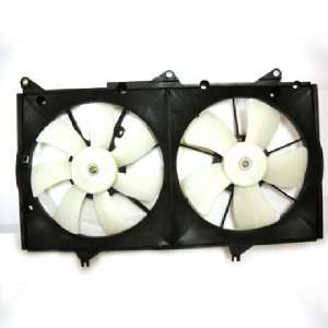 04 05 LEXUS ES 330 RADIATOR & COND CONDENSER FAN ASSEMBLY