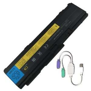 6 Cell Replacement Battery for Lenovo / IBM ThinkPad X300