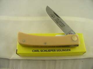 German Eye Yellow Sodbuster Jr Knife NIB
