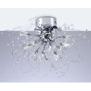 Close to Ceiling Kinetic Flush Mount