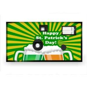 St.Patricks Day Disposable Camera Case Pack 20 Camera