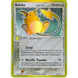 Pokemon   Raichu (15)   EX Holon Phantoms   Holofoil: Toys