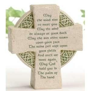 Faithstones by Roman May the Road Rise Celtic Irish Cross