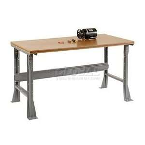 Mobile Shop Top Square Edge Work Bench  Fixed Height   1 1/2 Top