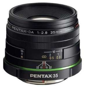 DA 35mm f/2.8 Macro Limi by Pentax Imaging   21730: Camera & Photo
