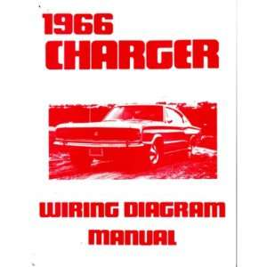 1966 DODGE CHARGER Wiring Diagrams Schematics: Automotive