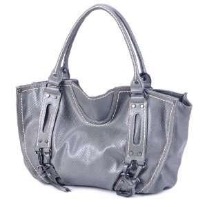 LSQ00711DG Dark Gray Deyce Urban PU Women Bucket Bag Beauty