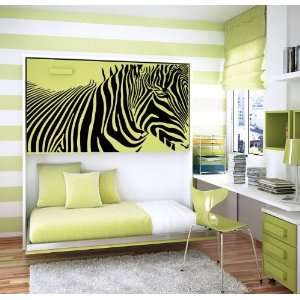 Zebra Animal Cute Design Wall Vinyl Sticker Decals Art