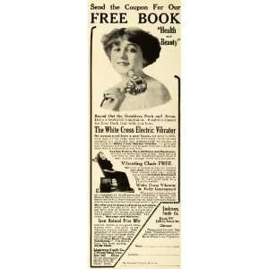 1913 Ad White Cross Electric Vibrator Health Beauty