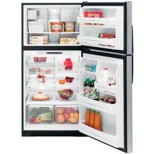 com GE GTL22JCPBS 21.8 cu. ft. Freestanding Top Freezer Refrigerator