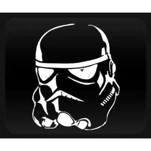 Storm Trooper Star Wars White Sticker Decal Automotive