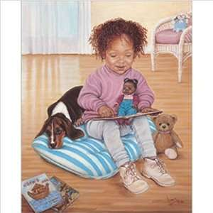 Art 4 Kids 61047 The Reading Lesson Wall Art Picture Type