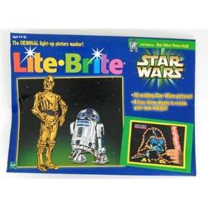 Star Wars Lite Brite Picture and Refill Kit Toys & Games