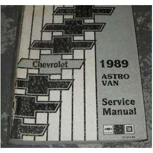 1989 Chevy Asro Van Service Repair Shop Manual OEM 89 gm