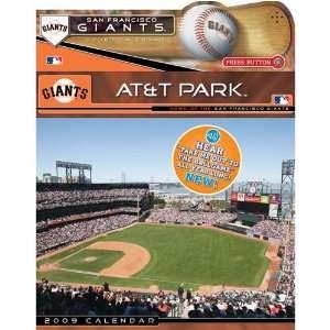 San Francisco Giants MLB 12 x 12 Wall Calendar with Sound