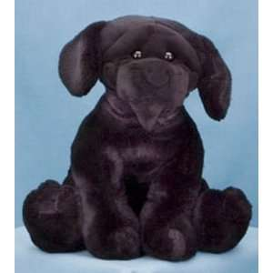 Black Labrador Retriever Dog Plush Stuffed Animal Toys