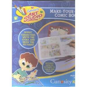 Make Your Own Comic Book Toys & Games