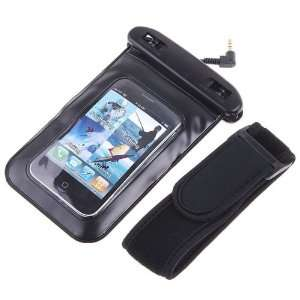 PVC Waterproof Case Bag + Earphones for iPhone Cell Phone
