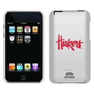 University of Nebraska Huskers on iPod Touch 2G 3G CoZip