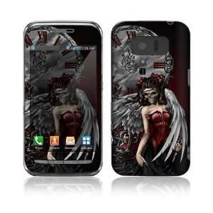 Gothic Angel Design Decorative Skin Cover Decal Sticker for Sharp Lynx