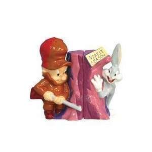 Looney Tunes Elmer & Bugs Bunny Salt & Pepper Shakers