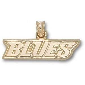 St. Louis Blues 14K Gold BLUES Pendant