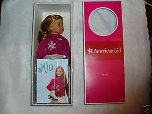 AMERICAN GIRL DOLL MIA Doll of the Year New In Box 540409296104