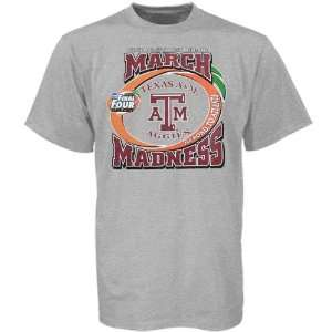 Texas A&M Aggies Ash 2007 March Madness T shirt