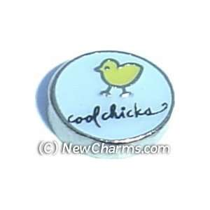 Cool Chicks Floating Locket Charm Jewelry