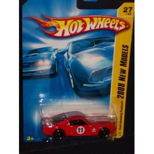 Hot Wheels 2008 027 New Models Ford Mustang Fastback RED