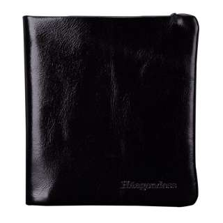 New Brand Genuine Leather Mens Black Brifold Wallet HA 30002A
