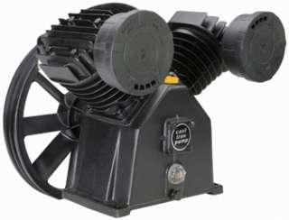 145 PSI TWIN CYLINDER AIR COMPRESSOR PUMP for 5 HP MOTR