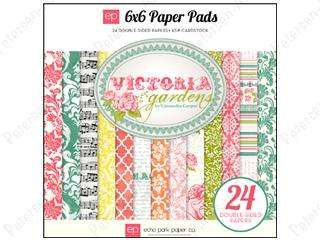 ECHO PARK PAPER CO  6X6 PADS  MANY STYLES  FAST LOW COST SHIPPING