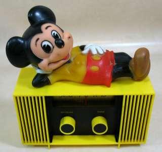 Mickey Mouse Yellow & Black Radio Concept 2000 Good / Fair