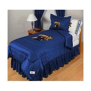 NCAA Kentucky Wildcats Complete Bedding Set Twin Size