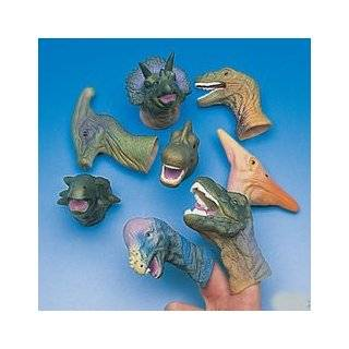 Ten Little Dinosaurs Finger Puppet and Board Book with Finger Puppets