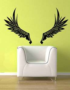 Angel Wings Fairy Wings Wall Vinyl Sticker Decal 18x22
