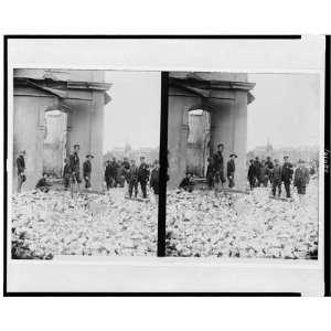 ruins,San Francisco earthquake,fire,California,1906