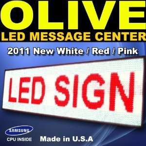 Programmable 3 Color LED Sign Scrolling Display for Window