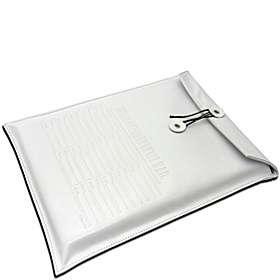 Kena Kai INTER DEPARTMENTAL MAIL Italian Leather Laptop Sleeve